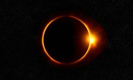 Solar eclipse is on the rise